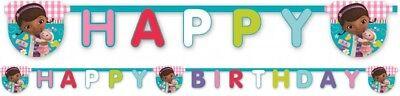 Boys Girls Birthday Party Doc McStuffins Themed 'Happy Birthday' Letters Banner](Doc Mcstuffins Boy Birthday)