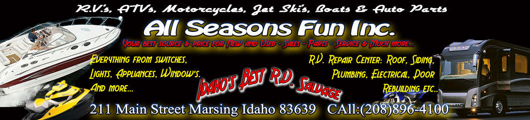 All Seasons Fun RV Salvage and more
