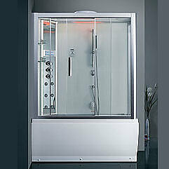DA328F3-1 - Steam Shower/ Whirlpool Bathtub 59.1″x32″x87″
