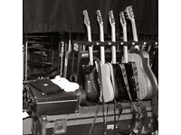 Freelance Guitar Tech/ Roadie/ Tour Crew Available