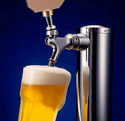 Beer Fridge Draft Kegerator Keg Fridge Draught RENTAL