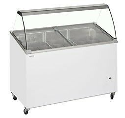 Ice Cream Display Freezer - Refrigeration Equipment - Free delivery - All Items Brand New