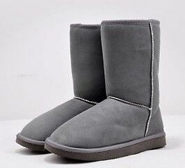 Free Shipp 7 Colors Pick Women Winter Warm Snow Boots Shoes Mid-Calf Many Sizes