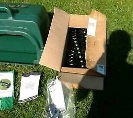 Atco Balmoral 17SK petrol lawnmower scarifier/rake/aerator in perfect condition