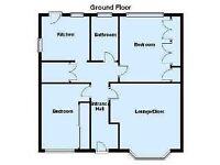 BEDWORTH - 2 Bedroom Ground Floor Maisonette with Large Garden -- £550 /mth