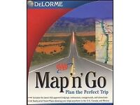 Delorme map'n'go USA/Canada Routefinder