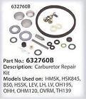 Tecumseh Carburetor Repair Kit