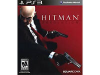 Hitman absolution (PS3) (Excellent condition)