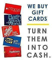 "We Pay Top Dollars ""On The Spot CASH""for Prepaid Master,VISA,Vanilla Cards & Gift Cards from Walmart,Best Buy,Home Depot"