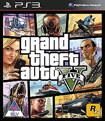 SELLING GTA V EXCELLENT CONDITION FOR PS3 $15