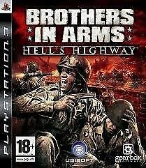 Brothers in arms Hell`s Highway (ps3 used game)