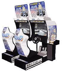 ARCADE DRIVING GAMES  - SINGLE  &  TWINS  & MUCH MORE