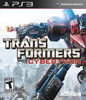 Transformers War for Cybertron (PS3)