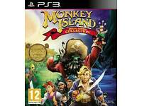 PS3 GAME MONKEY ISLAND WANTED