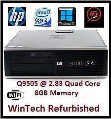 HP 8000 Q/Core 8GB Ram Desktop Computer Kirribilli North Sydney Area Preview