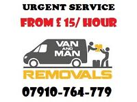 URGENT MAN & VAN HOUSE/ FLAT MOVING/ MOVER LUTON TRUCK HIRE DELIVERY/ COLLECTION REMOVAL/SHIFTING