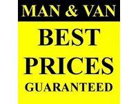 Man & Van Hire House Removals & Rubbish Clearances Cheap Rates 24/7