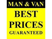 Man & Van services house flats offices removals garden & rubbish removals