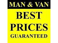 Man and Van removals house rubbish clearances