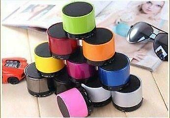 Mini bluetooth speaker SD TF kaart microfoon *11 kleuren*