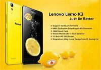 """Lenovo Lemo K3 5.0"""" OGS Android 4.4 MSMS8916 64bit 4G LTE GPS 8G"""