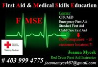 Standard First Aid Course - June 20-21 - Competitive prices!!!