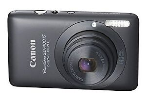 Canon PowerShot SD1400 IS (Black) 14.1MP - (Like New in box)