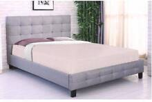 Queen Size Brand New Quality Fabric Bed Frame Clayton South Kingston Area Preview
