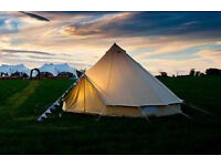 North London Bell Tent £150 for three days. festivals, glamping, camping - see info for full details
