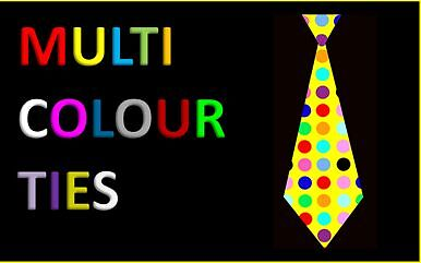 Multicolour Ties