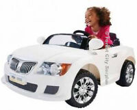 BMW Style Power Wheels Car - A classy car at a Surplus Price!