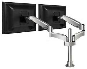 DUAL MOUNT MONITOR ARM