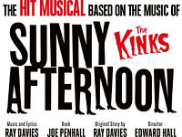 Tickets for Sunny Afternoon, Kinks Musical at WMC Cardiff