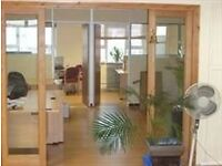 This is a superb first floor office with warehouse space on the ground floor.