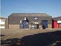 A 110sqft office is available situated within a workshop.