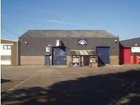 A 110sqft office is available situated within a workshop