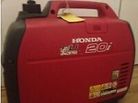 Honda EU20i Generator - barely used! £850 (North London)