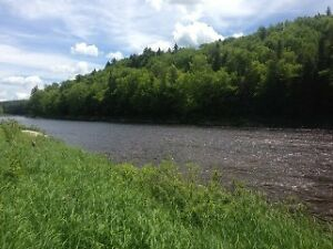 Nashwaak River waterfront land for sale