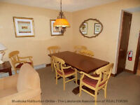 THREE BEDROOM SUITE STEPS FROM THE MAIN BUILDING  $249000