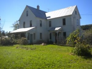 Century Hobby Farm with waterfront for sale