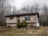 RAISED BUNGALOW ON OVER 2 ACRES($164,900)