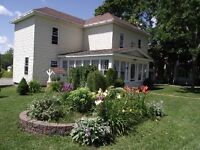 Lovely Victorian Home in historic McAdam, N.B.