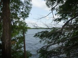 CHRISTIE LAKE  - PERTH - WATERFRONT BUILDING LOT!