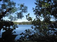Boulter lake Waterfront lot