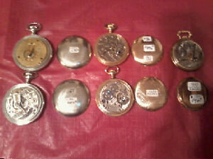 ANTIQUE VINTAGE POCKET WATCHES / ASST YEARS / 1885 - 1960 xxx City of Toronto Toronto (GTA) image 8