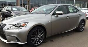 Lease Takeover - 2015 Lexus IS FSport Sedan