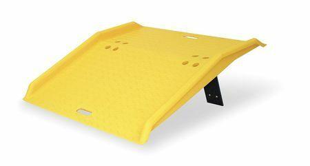 ZORO SELECT 1795 Portable Dockplate,750 lb,36 x 35 In