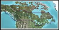 Bluechart Water Maps for GARMIN - LakeVu, Entire Canada, Ontario