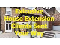 Exclusive-House-Extension-Leads | Get-House-Extension Clients Send Your Way Directly