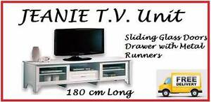 FREE DELIVERY Brand New TV Entertainment Unit 12 MONTH WARRANTY New Farm Brisbane North East Preview
